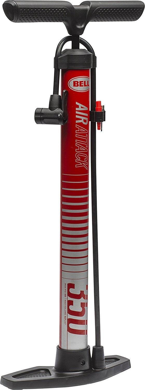 Bell Sports 7076435 100 Psi Air Attack Floor Bike Pump, Steel