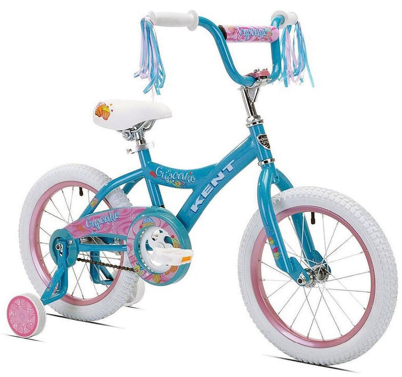 """Kent International Kent 91605 Girls Cupcake Bicycle, 16"""""""