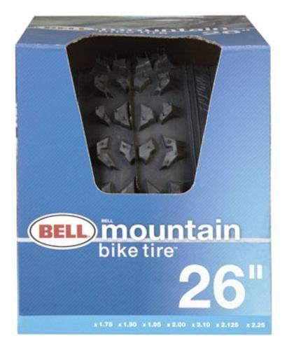"""Bell 1006473 Bike Tire, 26""""x1.75-2.125"""", Black"""