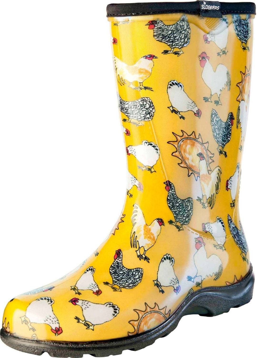 Sloggers 5016cdy10 Women's Rain And Garden Boots, Size 10, Daffodil Yellow