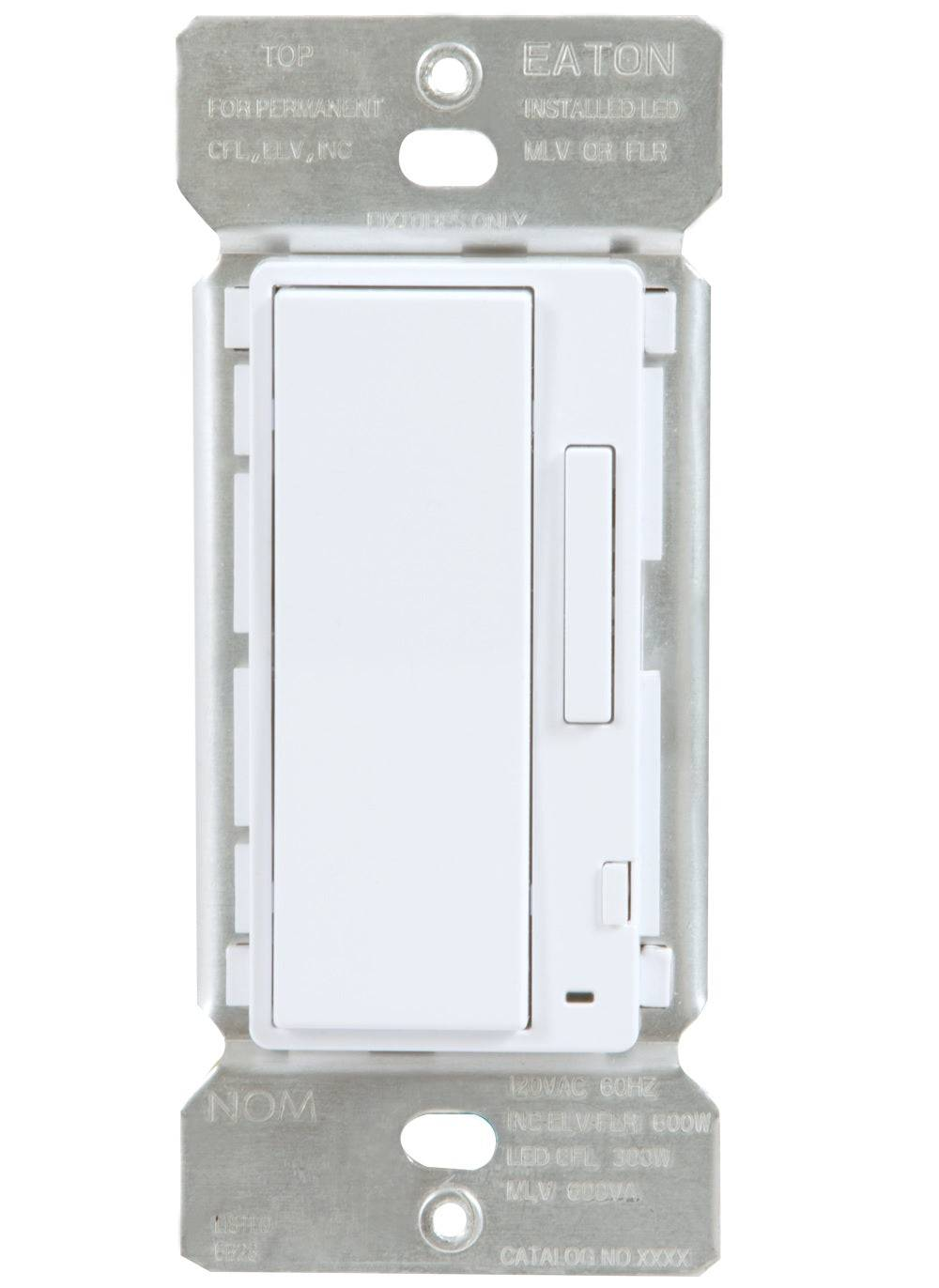 Eaton Hiwac1ble40awh Halo Home In-wall Accessory Dimmer, White