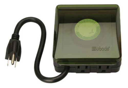 Woods 50012 Outdoor Heavy Duty Mechanical Timer