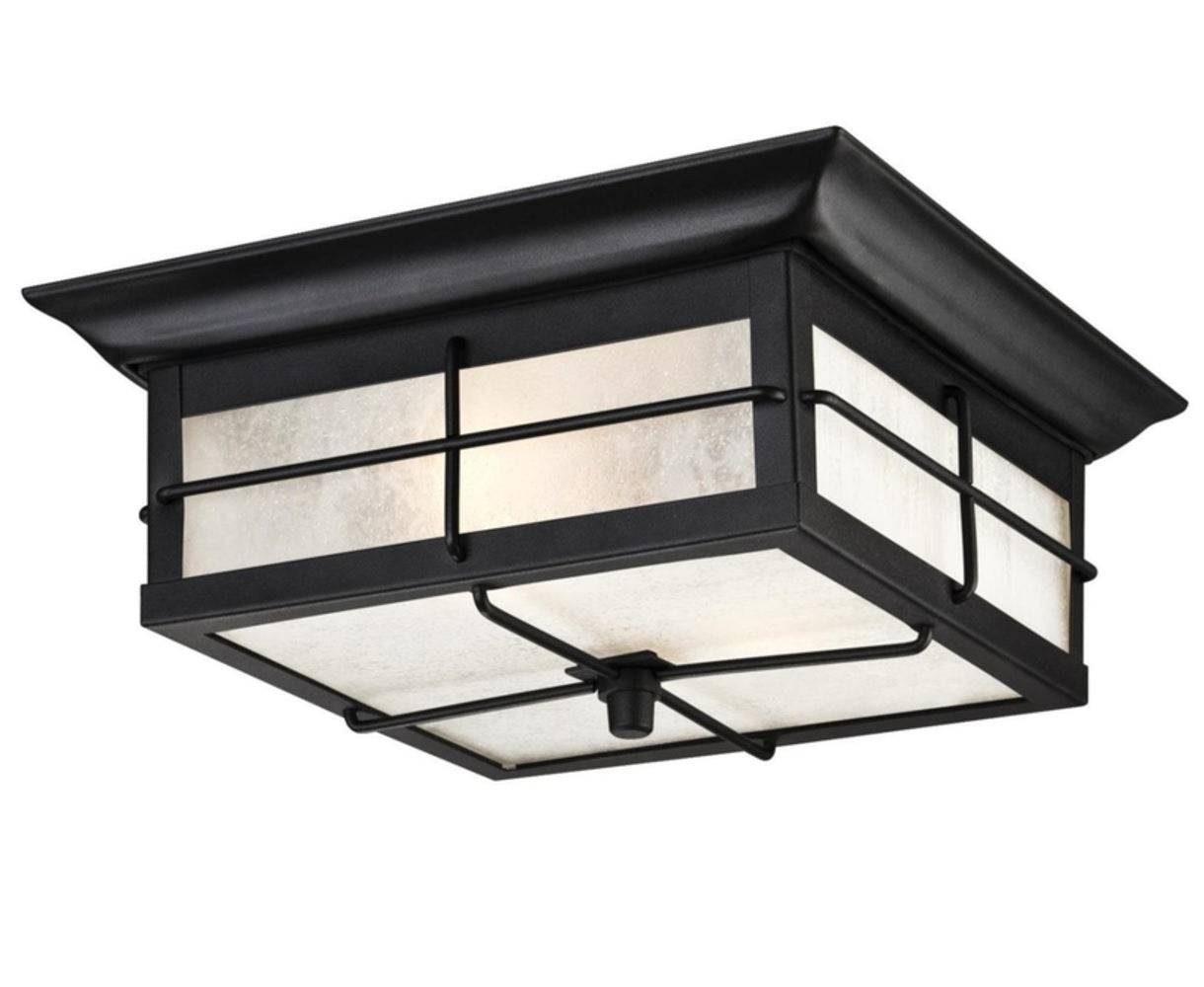 Westinghouse 62048 Orwell Two-light Outdoor Flush Fixture
