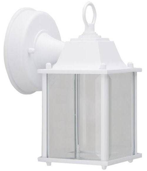 Boston Harbor 0038-wd-wh Outdoor Wall Lantern, White