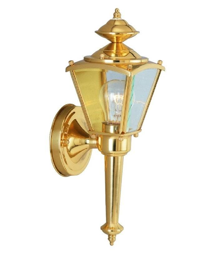 Boston Harbor 4003h2 Dimmable Outdoor Lantern, Polished Brass