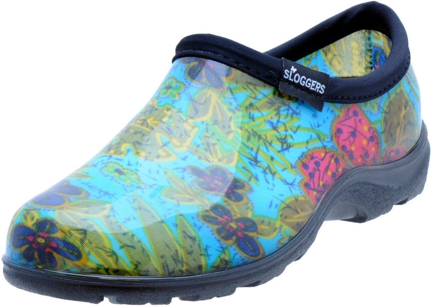 Sloggers 5102bl07 Womens Garden Shoes, Midsummer Blue, Size 7