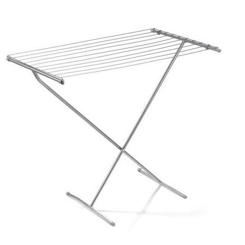 Polder 8309-76 Deluxe Free Standing Clothes Dryer, Silver