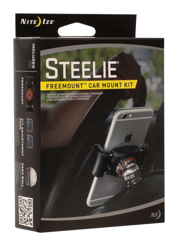 Nite Ize Stfd-01-r8 Steelie Freemount Universal Cell Phone Car Mount, Black