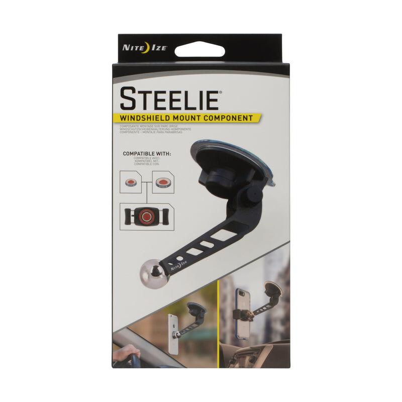 Nite Ize Stws-01-r8 Steelie Universal Windshield Cell Phone Mount, Black