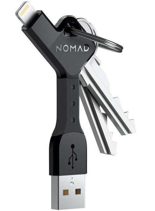 Nomad 1682-wp-121 Apple Lightning Cell Phone Data Cable, Black