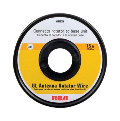 Rca Vh127r Antenna Rotator Wire, 75', Black