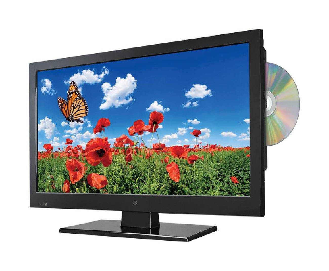 Gpx Tde1587b Led Color Tv And Dvd Combo, 720p, 15""