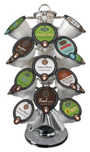 """Keurig 05006 Vue V-cup Carousel, 14.5""""h X 9""""w, Chrome Plated"""