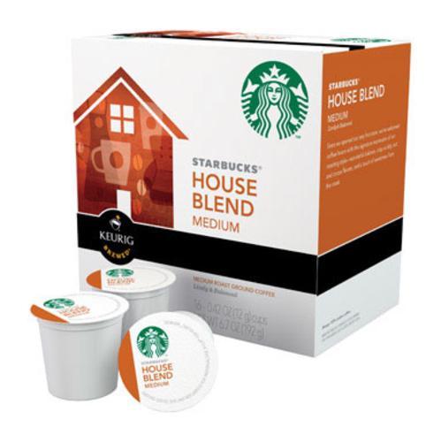Starbucks 110769 House Blend Coffee K-cups, 16 K-cups