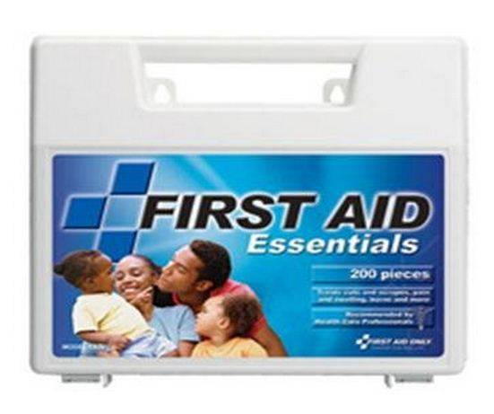 First Aid Only Fao-134 Essentials First Aid Kit, Large Plastic Case