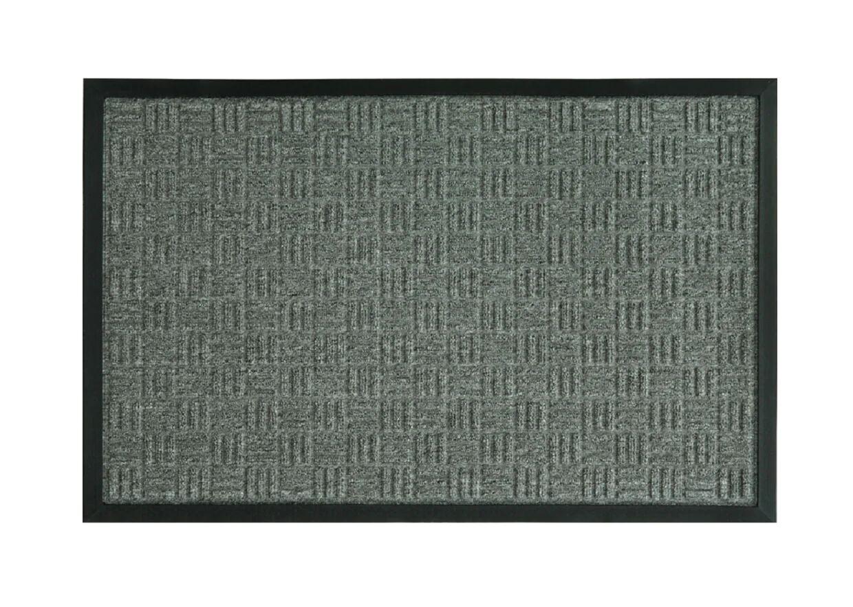 """Sports Licensing Solutions 58777 Floor Saver Ii Floor Mat, Gray, 24"""" X 36"""""""