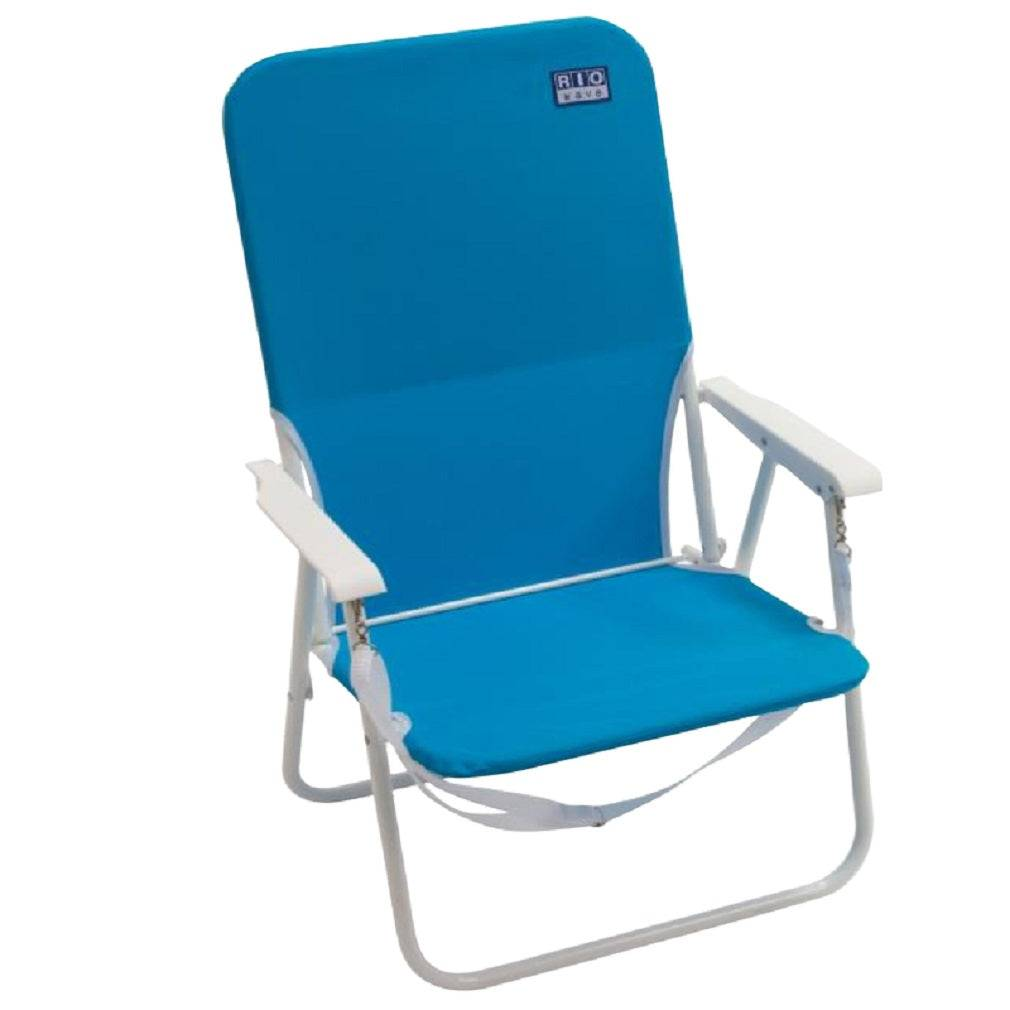 Rio Brands Sc515-31pk6 Sun 'n Sport Folding Chair, Blue