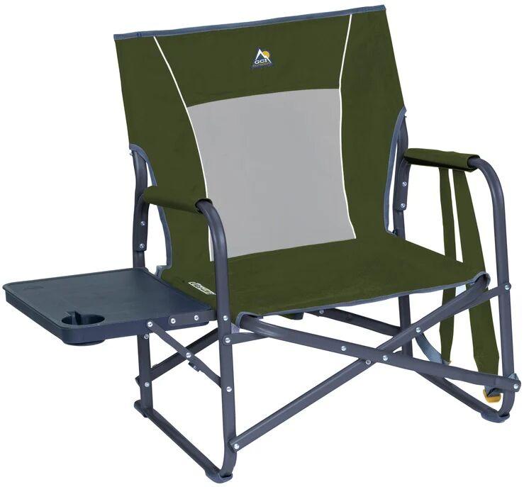 Gci Outdoor 36676 Slim-fold Folding Chair, Bronze Green