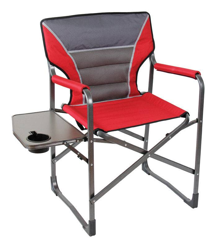 Mac Sports C2150a-st Director Folding Chair, Red