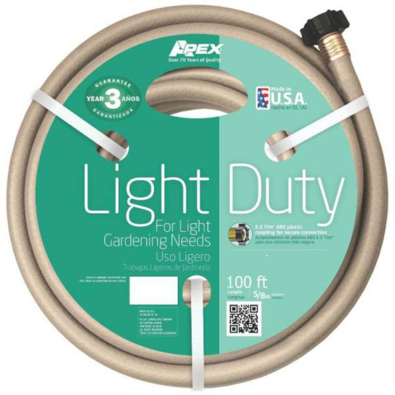 Apex Tools Apex 8400-100 Light Duty Garden Hose, 100'