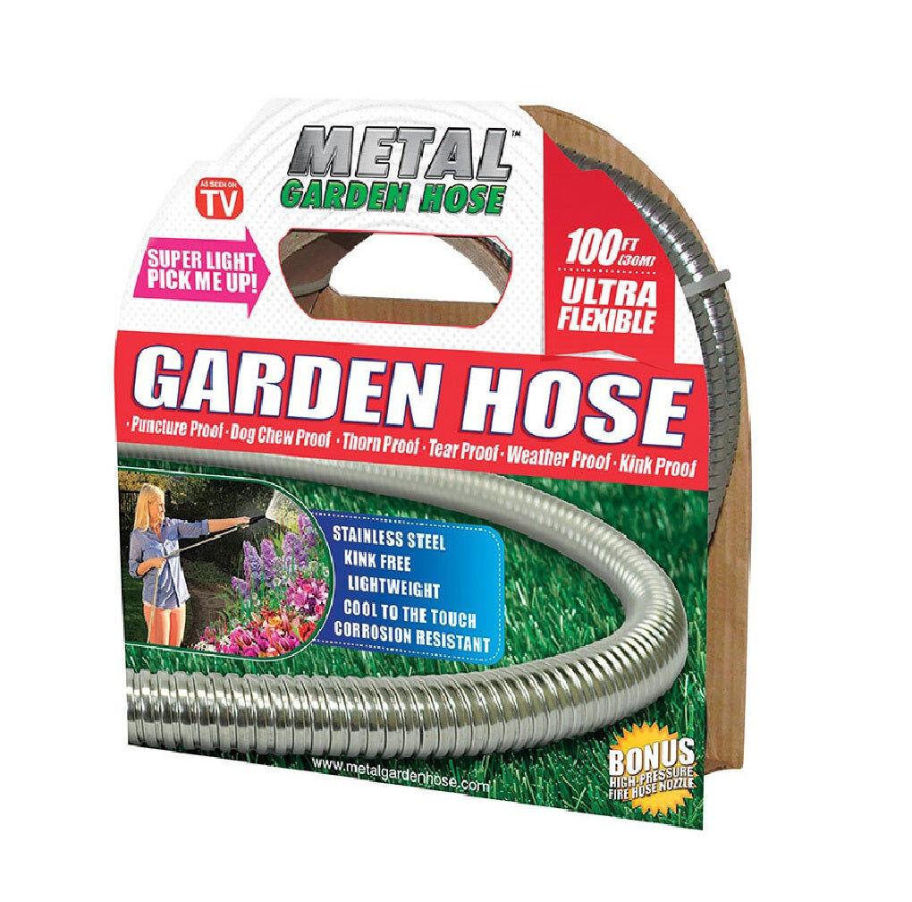 Metal Garden Hose Metal Garden 54395 Hose As Seen On Tv Garden Hose