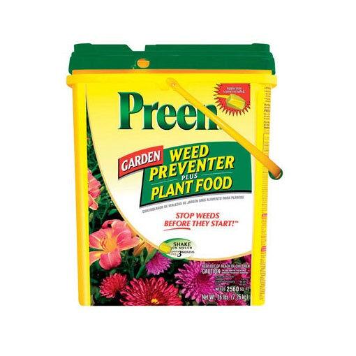 Lebanon Seaboard Preen 21-63910 Garden Weed Preventer Plus Plant Food, 16 Lbs