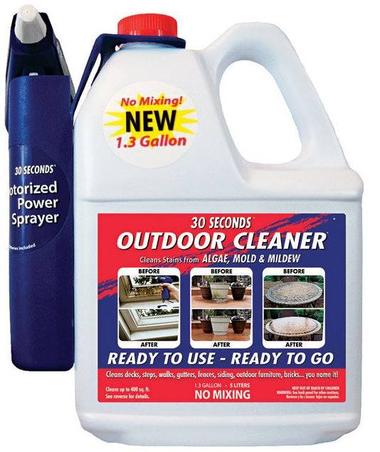 30 Seconds 1.3g30s Outdoor Cleaner, 1.3 Gallon