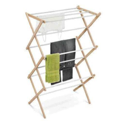 Honey Can Do Honey-can-do Dry-01111 Wooden Clothes-drying Rack, White/natural