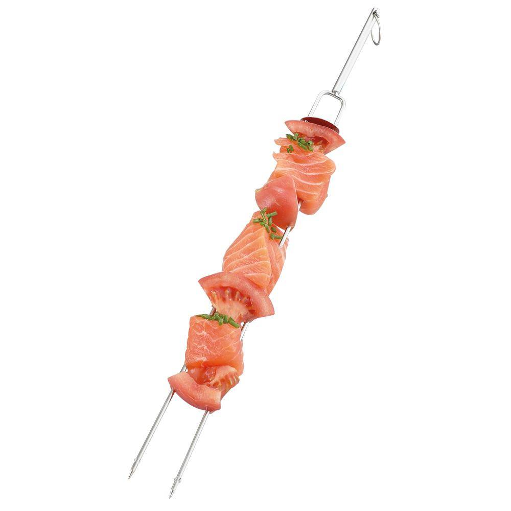 Grill Friends 60538 Double Kabob Skewers, Set Of 4