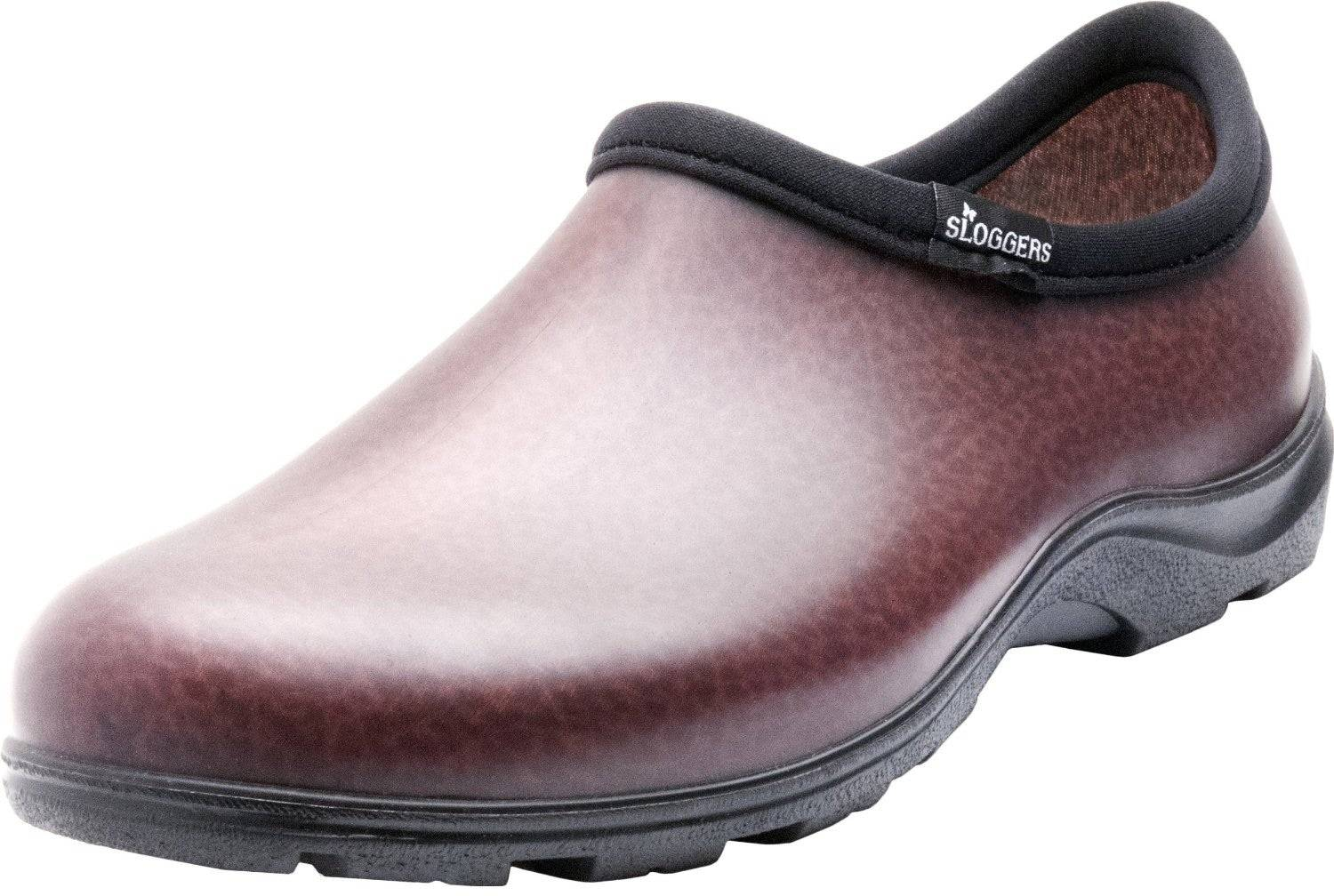 Sloggers 5301bn12 Men's Rain And Garden Shoes, Size 12, Leather Brown