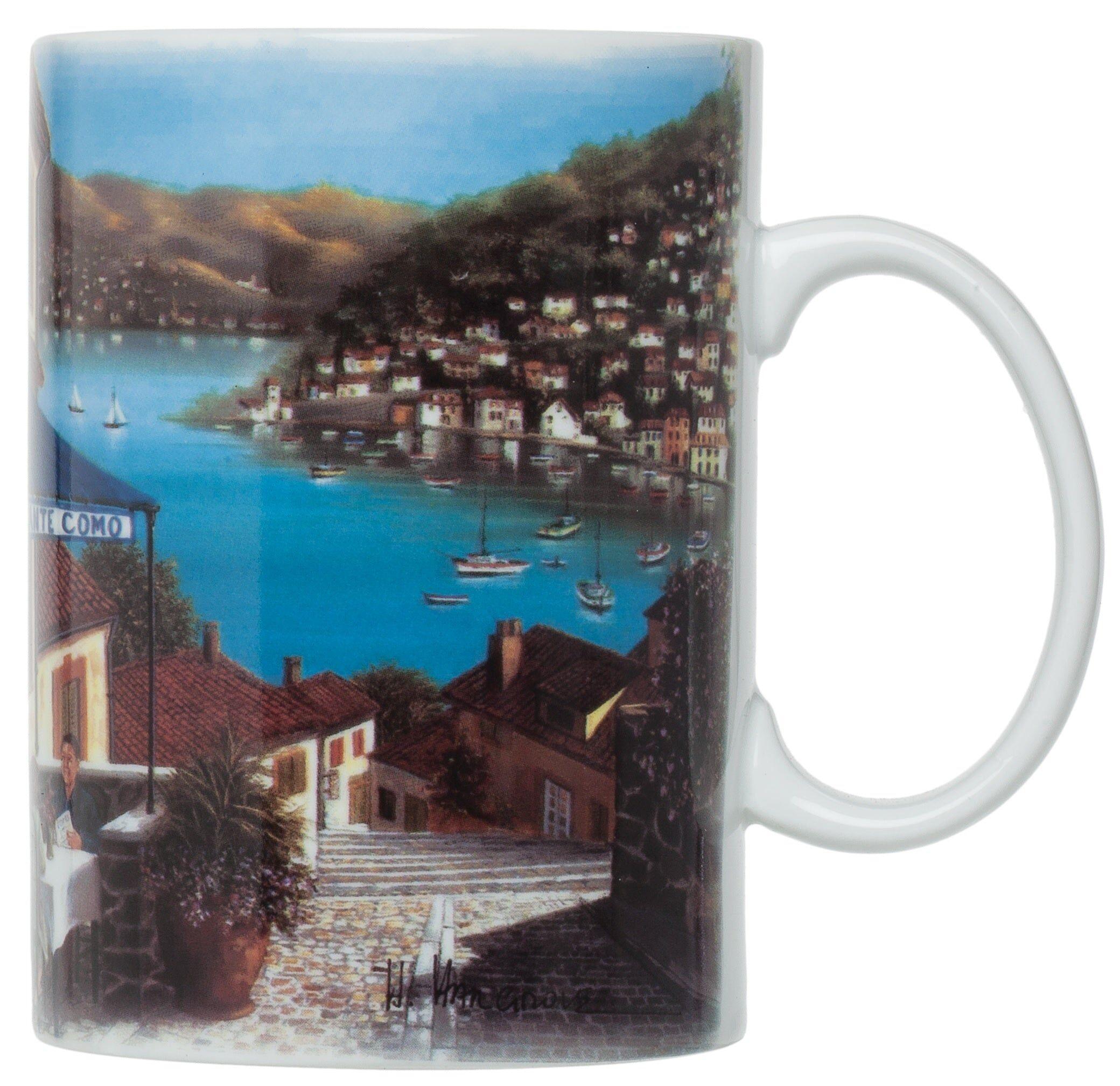 Harold Import Nt789 Ristorante Com Mugs, 16 Oz