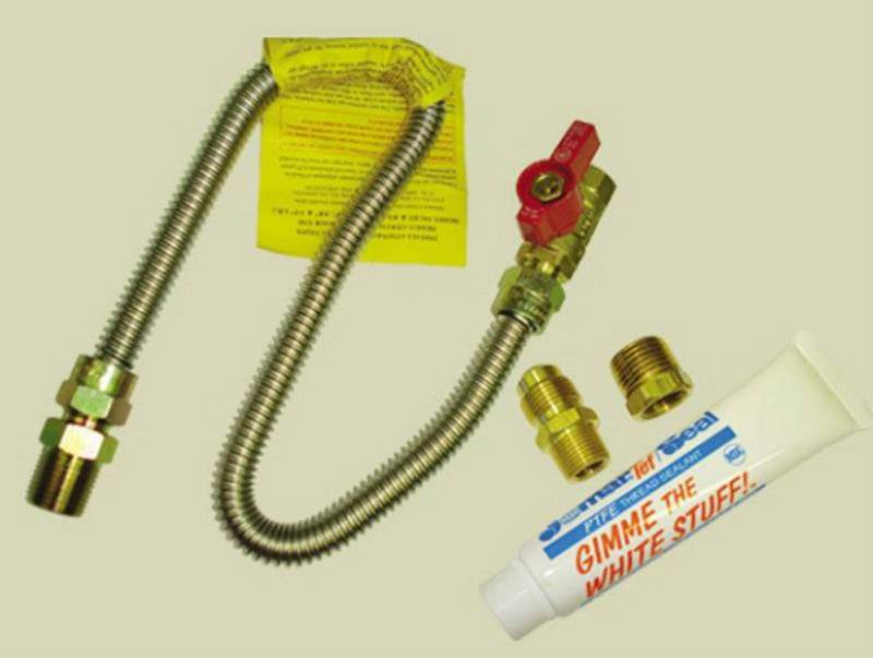 Kozy World 20-7010 Gas Wall Heater Installation Kit