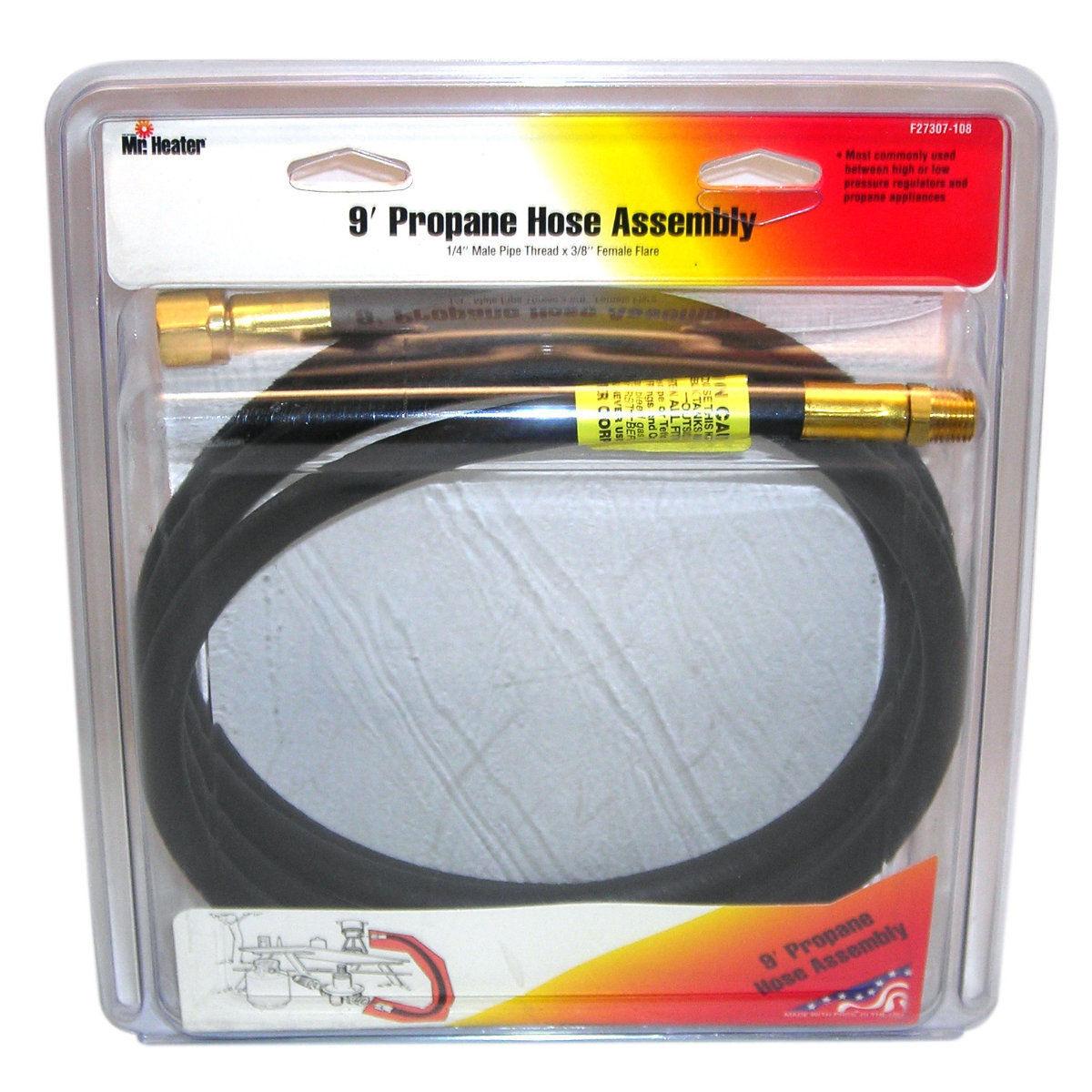Mr Heater F273707-108 Propane Hose Assembly, 9'
