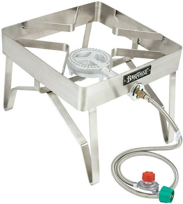 Bayou Classic 1114 Outdoor Patio Stove, Stainless Steel