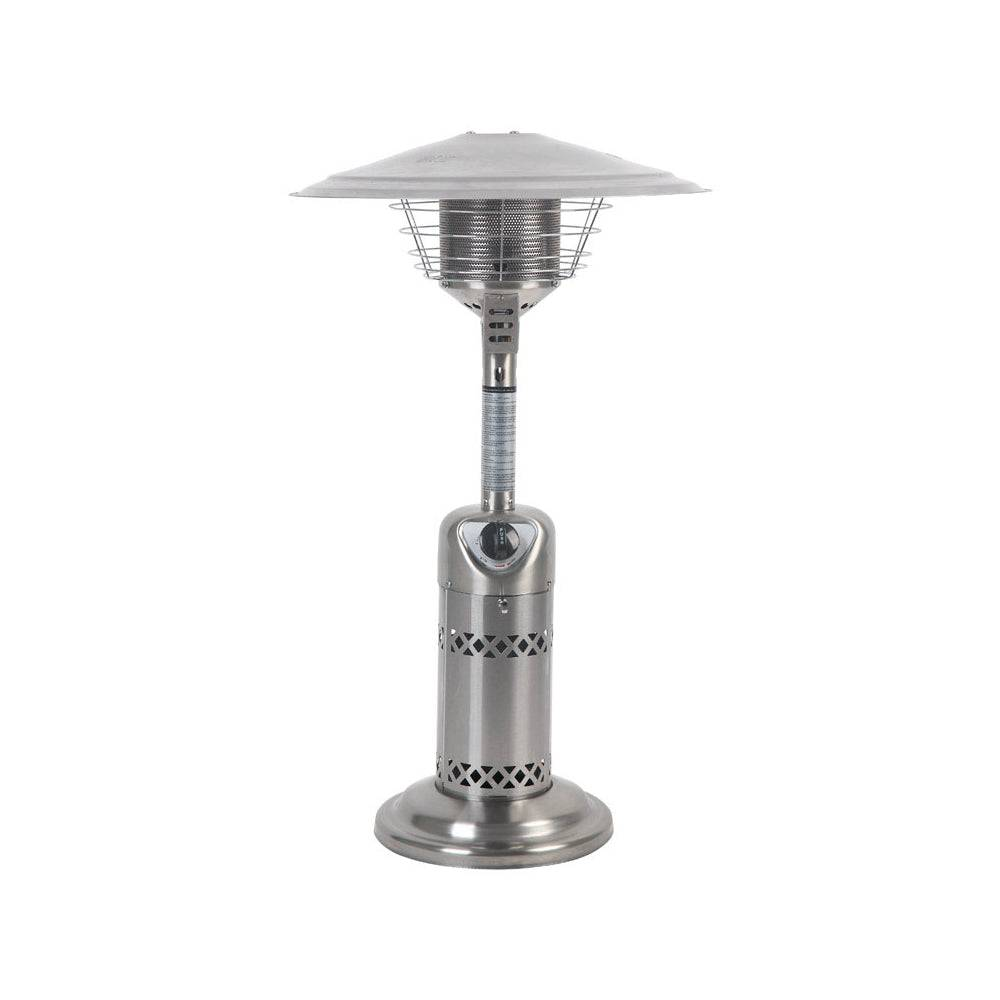 Living Accents Srpt03s Tabletop Propane Patio Heater, Stainless Steel