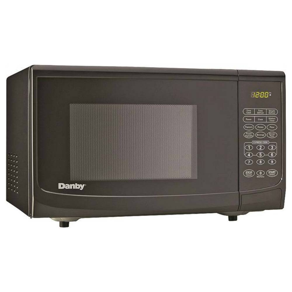 Danby Dmw1120bbb Countertop Microwave, Black, 1.1 Cu. Ft.