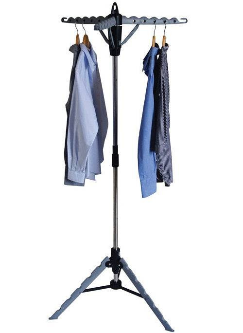 Homz 4240008 Tripod Clothes Drying Stand, Silver
