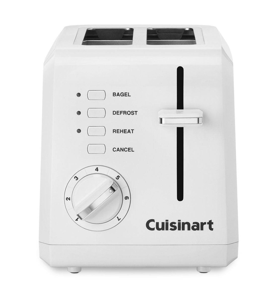 Cuisinart Cpt-122 Compact Toaster, White