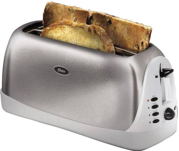 Oster Tssttr6330-np 2 Extra Long Slice Toaster, Stainless Steel