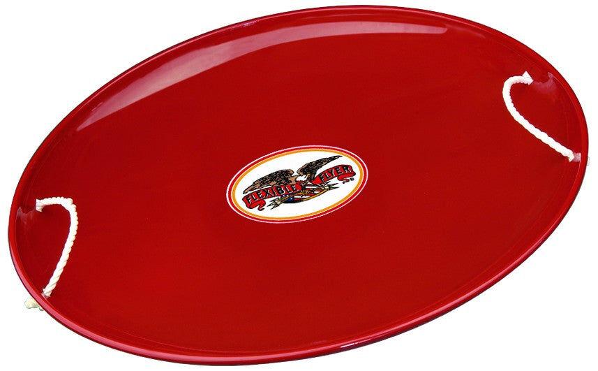 """Flexible Flyer 826 Steel Saucer, 26"""", Red"""