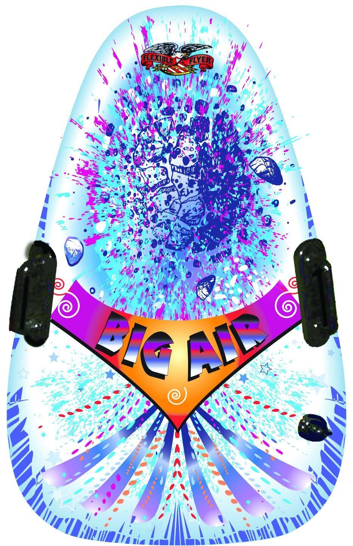 "Flexible Flyer I46 Inflatable Big Air Snow Tube, 46"" X 29"""