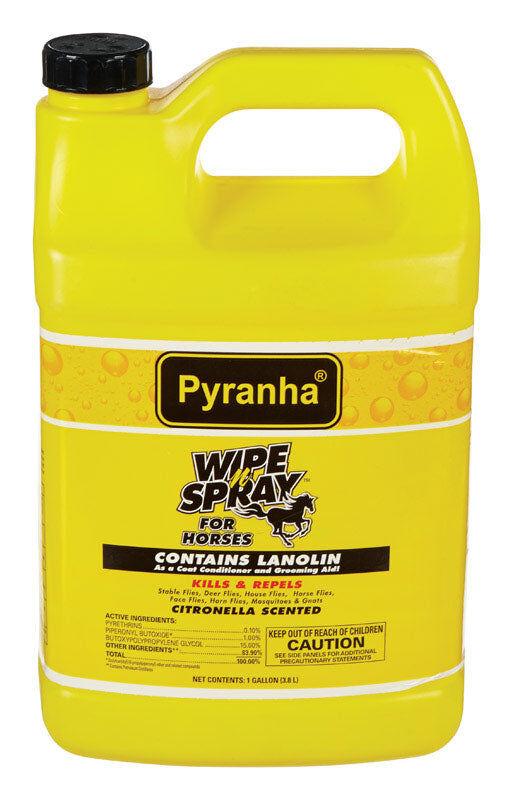 Pyranha 039790 Wipe N' Spray Insect Control, Gallon