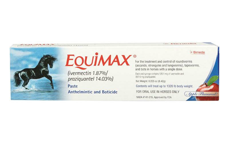 Equimax 87219-06405 Horse Wormer Paste