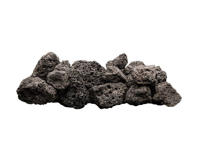 Bond 50730 Large Fire Bowl Filler, Lava Rock, Black