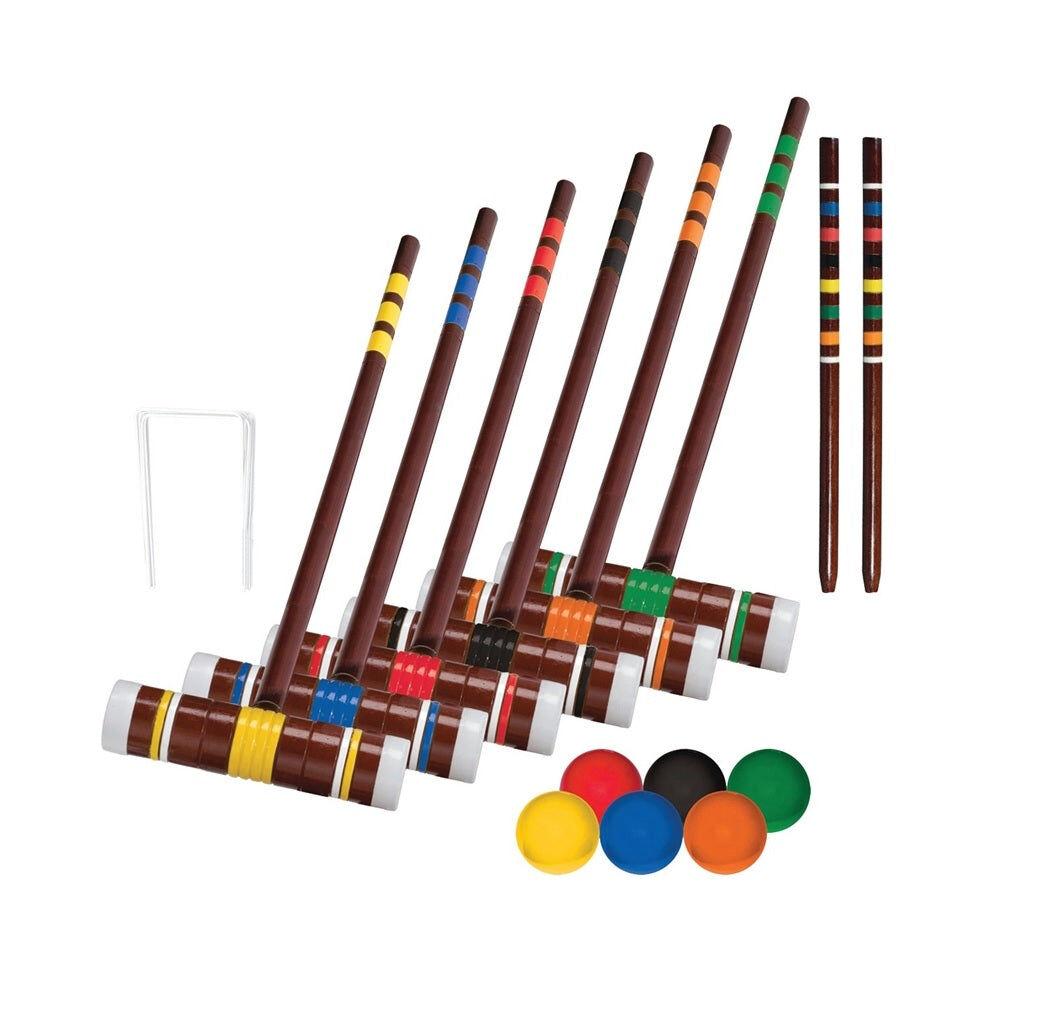 Franklin 50201 Intermediate Croquet Set