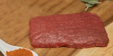 Certified Piedmontese Grass Fed, Grass Finished Flank Steak - 8oz. - 6 CNT