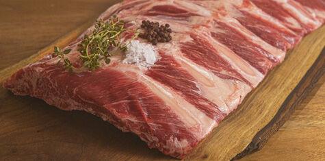 Certified Piedmontese Meaty Beef Back Ribs - 64oz. - 2 CNT