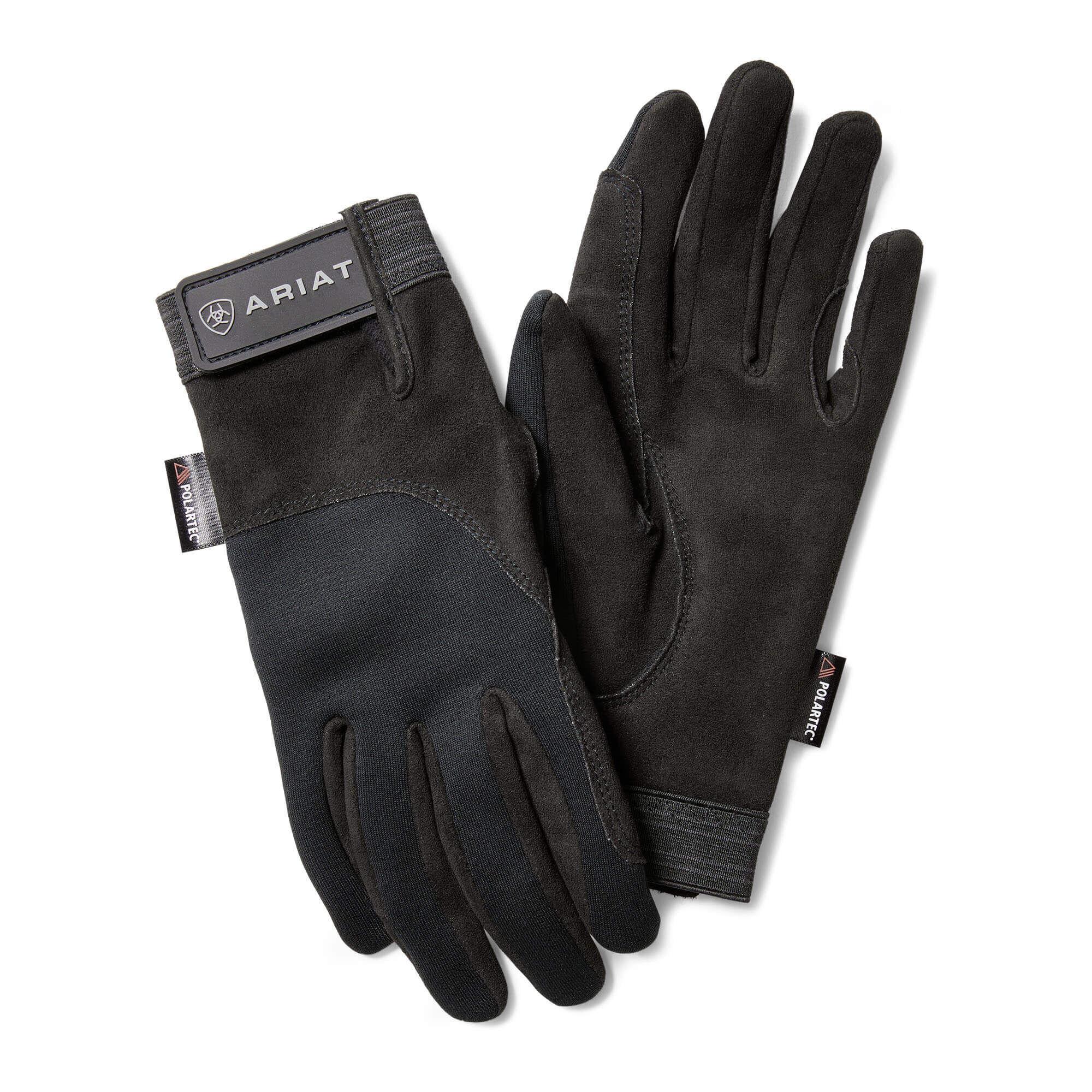 Ariat Insulated Tek Grip Gloves in Black, Size 11 by Ariat