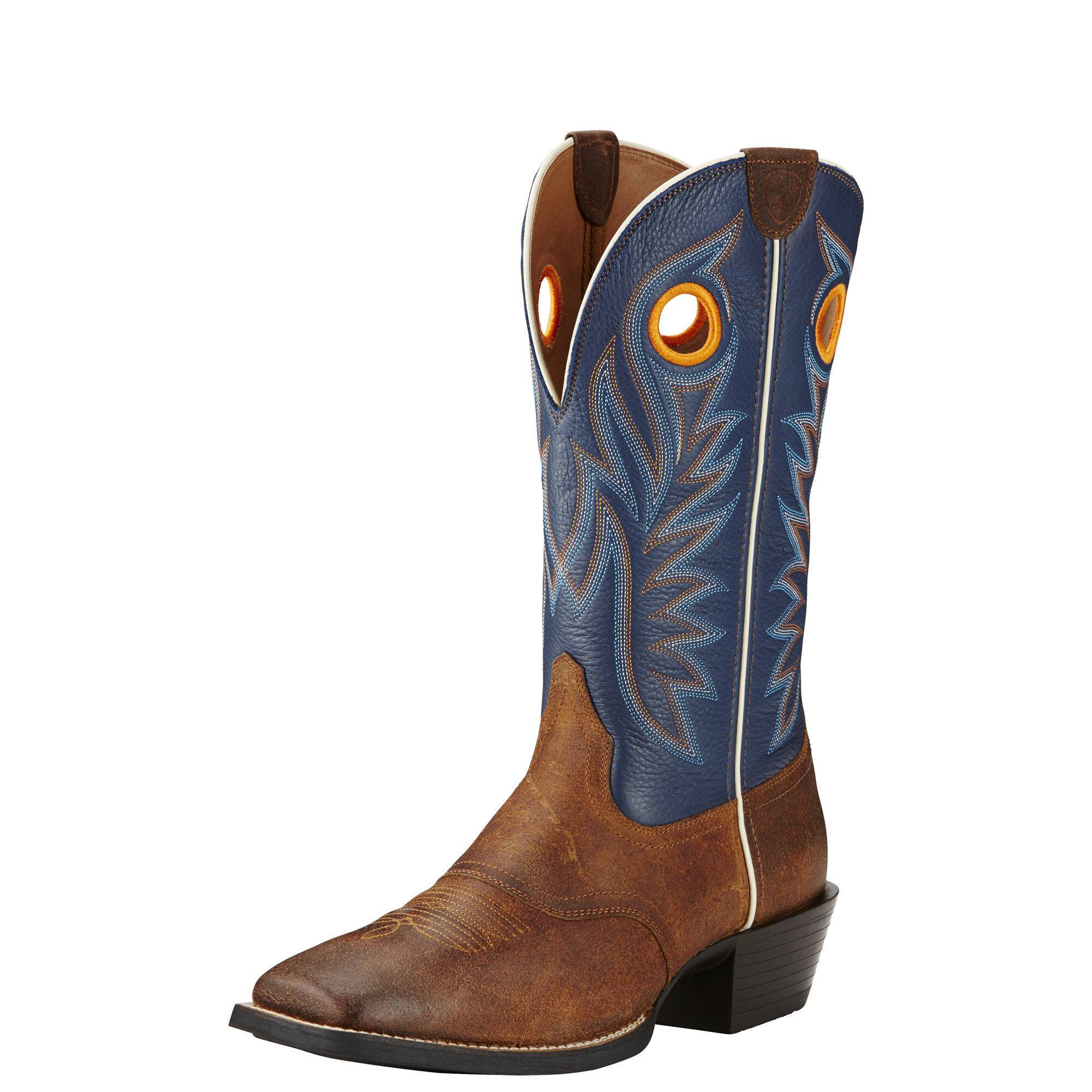 Ariat Men's Sport Outrider Western Boots in Pinecone Leather, Size 9.5 D / Medium by Ariat