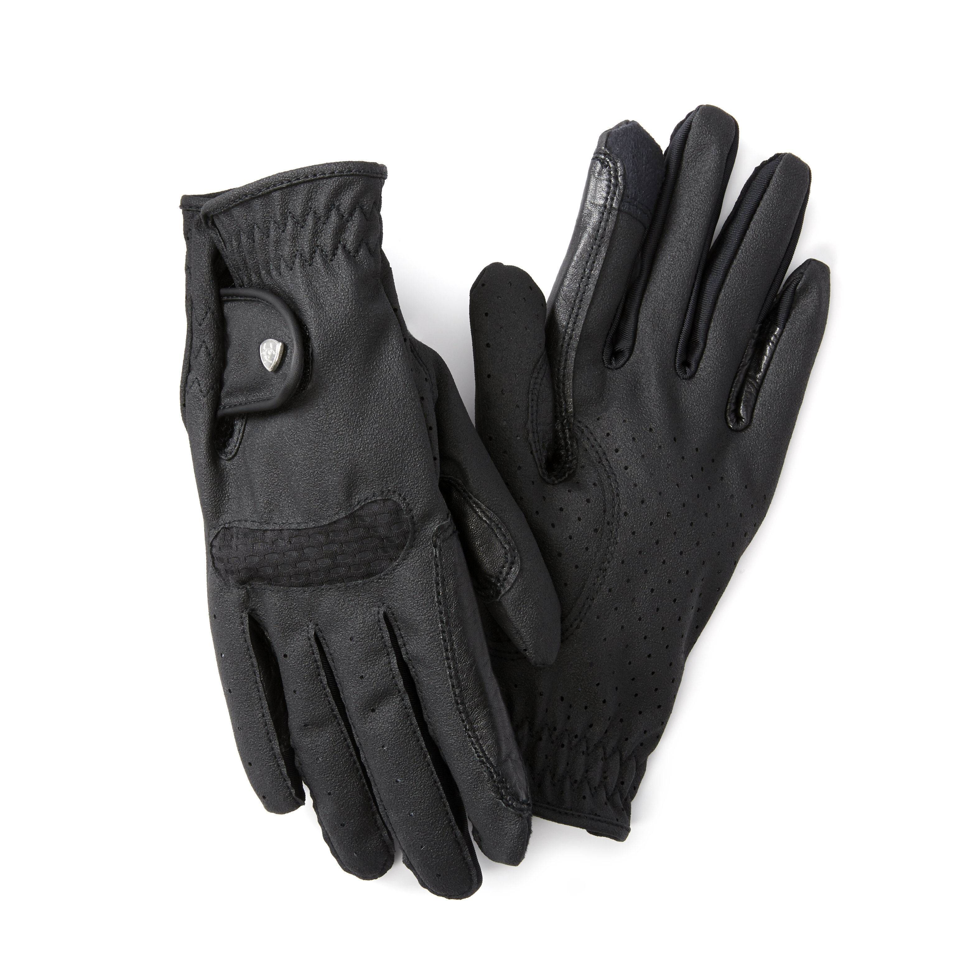 Ariat Archetype Grip Gloves in Black, Size 6.5 by Ariat